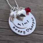 Hand Stamped Grandmother N..